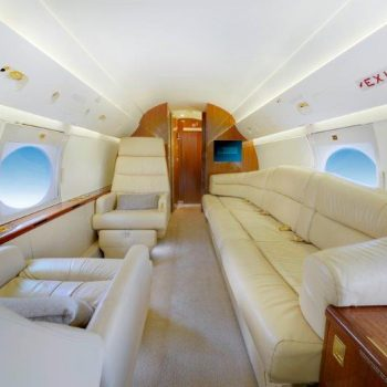 Gulfstream IV luxurious divan