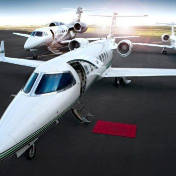 Luxury travel, fully appointed Learjets, Citations and Gulfstreams