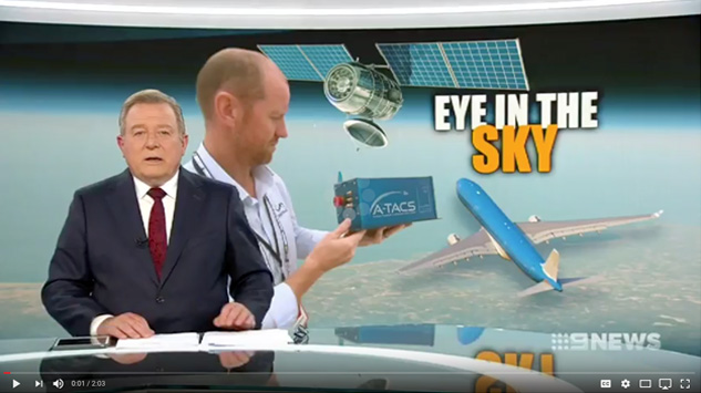 Channel 9 News A-TACS Launch - JetCity