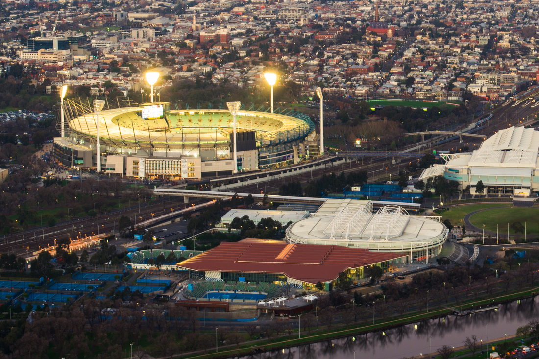 JetCity Leisure Charter Packages, MCG, Rod Laver Arena, Melbourne Sports Precinct