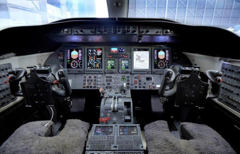 JetCity Engineering Learjet 40 and 45 Primus Elite Cursor Control Device